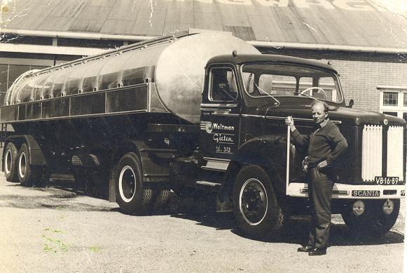 Scania Vabis VB-16-89 Woltman Gieten