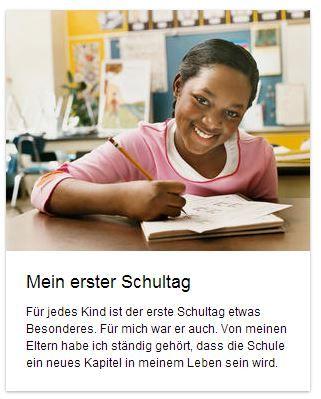 """""""Mein erster Schultag"""" heißt der neue #Aufsatz auf deutschfans.com. Erzähle von deinem ersten #Schultag! Woran erinnerst du dich noch?"""