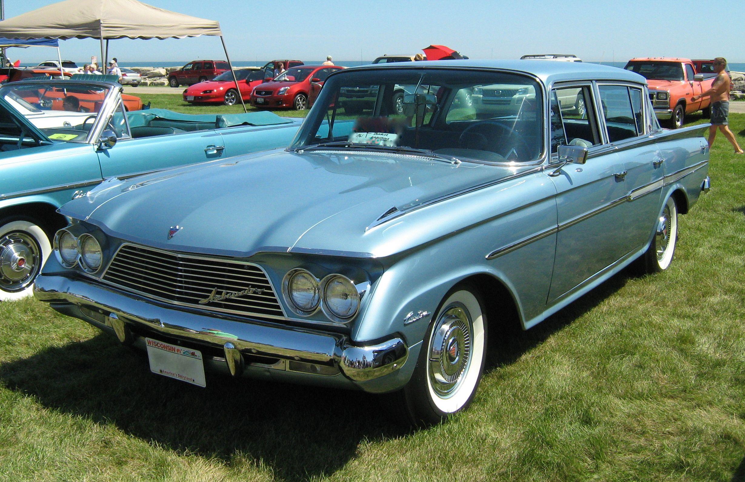 1961 Rambler Ambassador Amc Vintage Muscle Cars Classic Cars Trucks