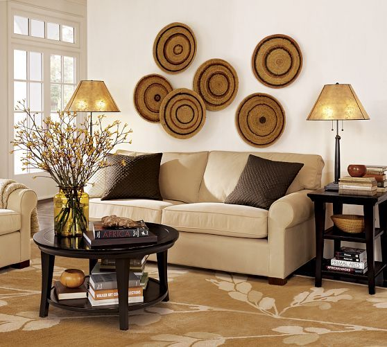 Metropolitan Round Coffee Table Diy Living Room Decor Wall