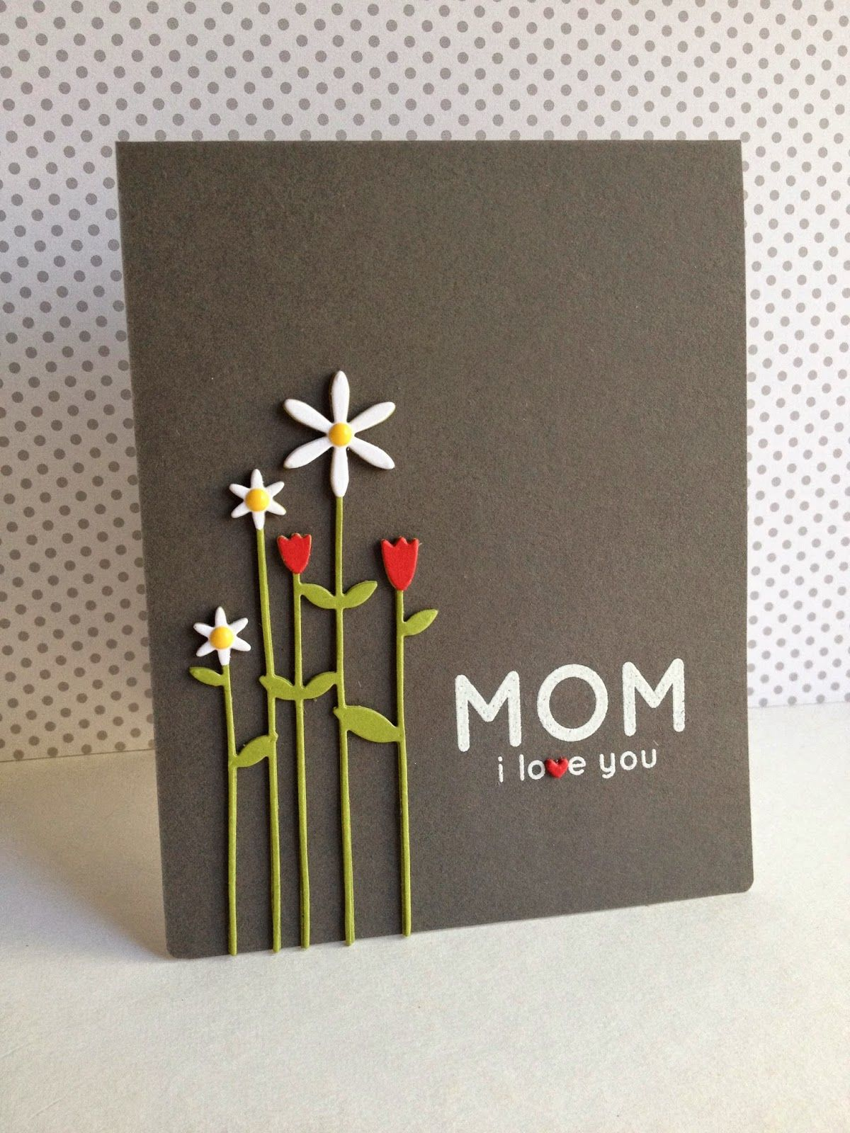 Tall Flowers For Mom Mom Cards Birthday Cards For Mom Cards