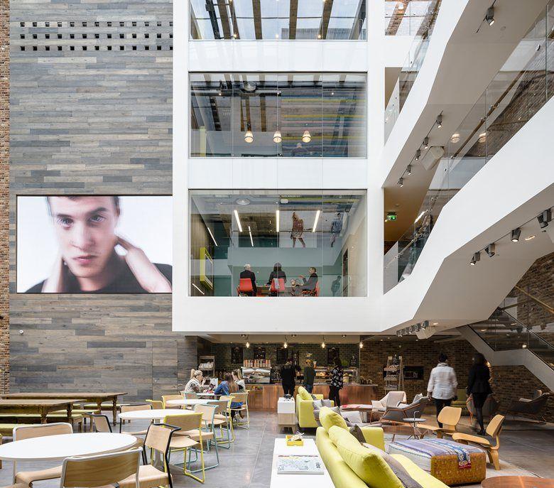 Primark's new international headquarters, Dublino, 2015 - MoreySmith