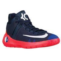 buy popular b1bca 2d824 Nike KD Trey 5 IV - Boys  Grade School - Kevin Durant - Navy   White