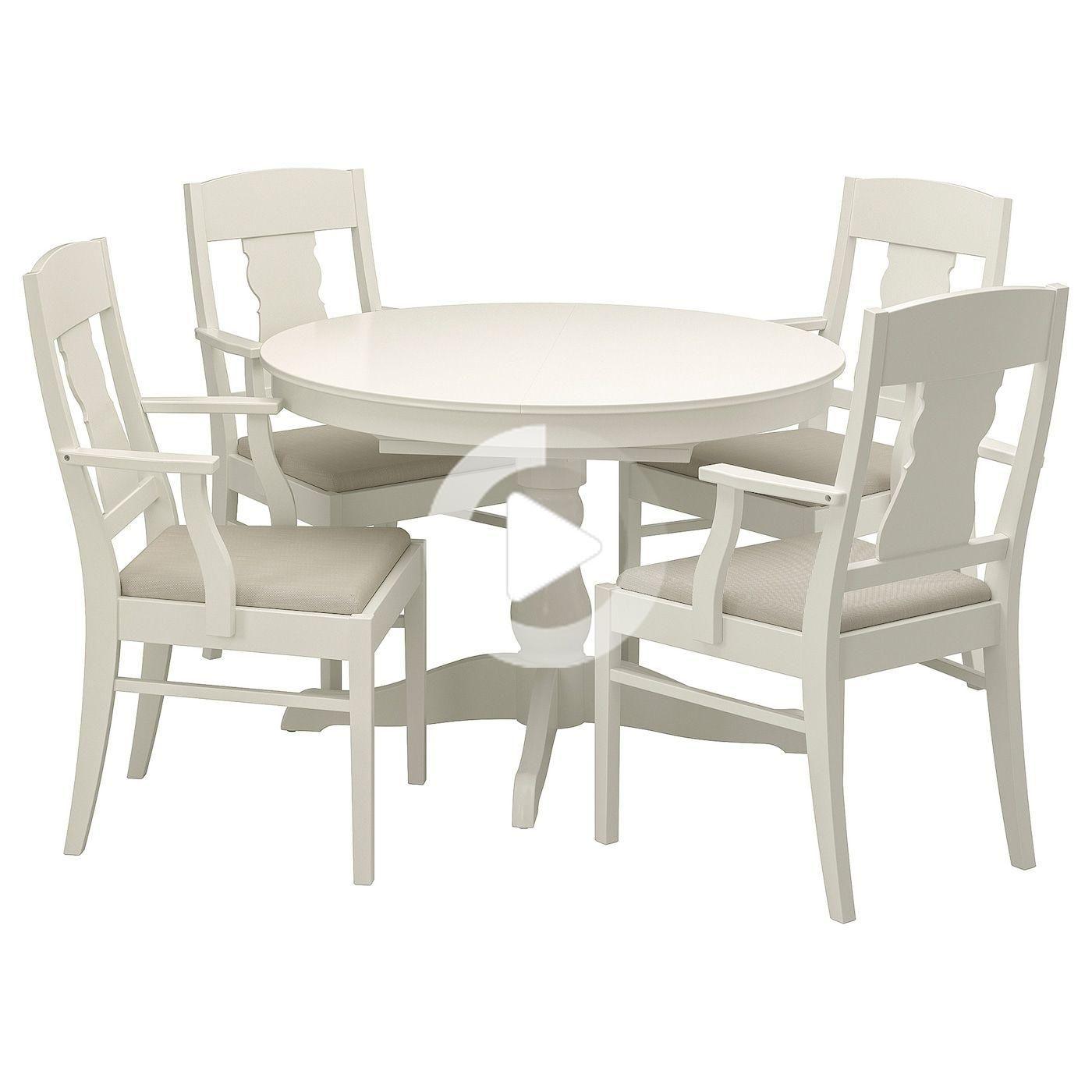 Ikea Ingatorp Table Et 4 Chaises En 2020 Ensemble Table Et Chaise Table A Rallonge Ikea