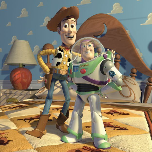 Toy Story Characters Woody And Buzz Toy Story 1995 Toy Story Movie
