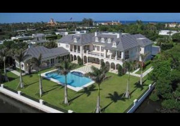 Palm Beach Florida Beach Mansion Mansions Expensive Houses