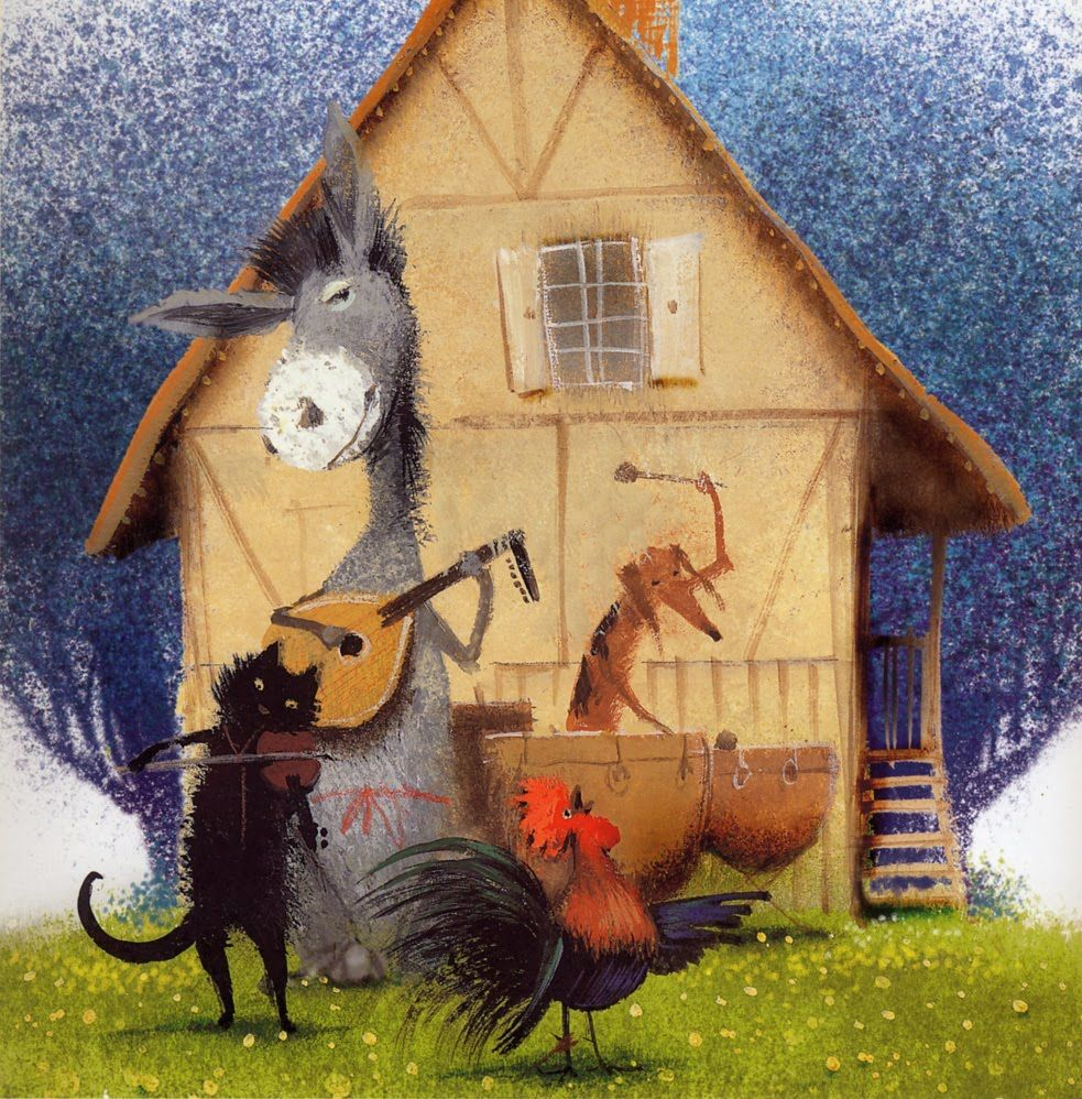 oleynikov Grimm tale of the Bremen town musicians
