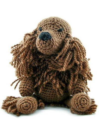 TOFT Amigurumi Crochet Large Red Setter kit | amigurumi kutyák ...