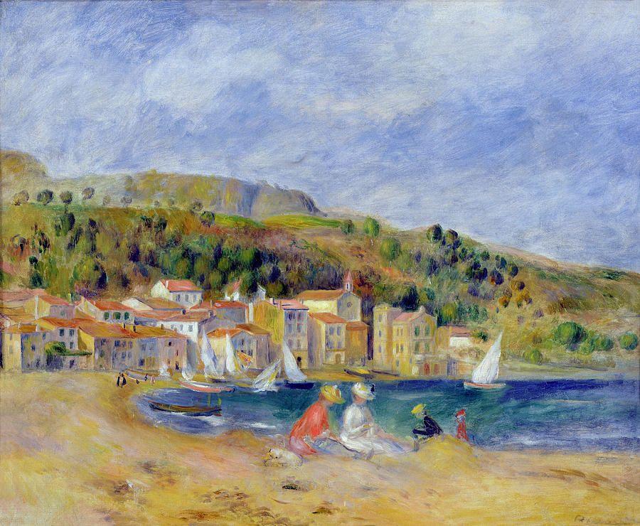 Le Lavandou Painting  - Le Lavandou Fine Art Print