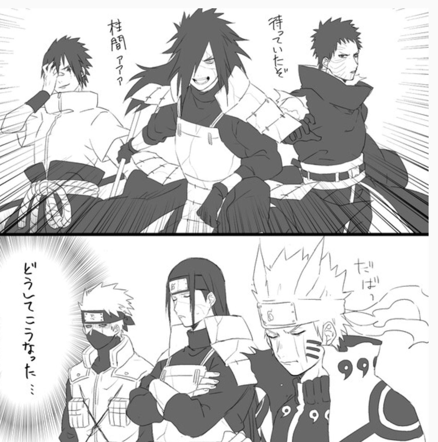 sasuke naruto madara hashirama obito kakashi naruto naruto kakashi naruto shippuden anime naruto