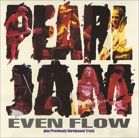 "For Sale -Pearl Jam Even Flow USA Promo  CD single (CD5 / 5"")- See this and 250,000 other rare and vintage records & CDs at http://eil.com/"