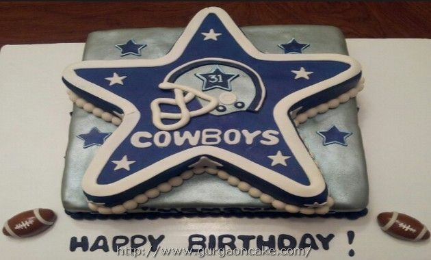 dallas cowboy birthday cakes Dallas cowboys Pinterest Cowboy