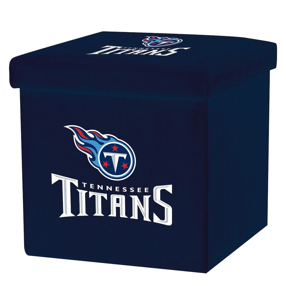 01ffb6be6 Franklin Sports Tennessee Titans Storage Ottoman with Detachable Lid ...