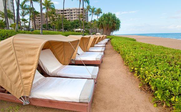 Westin Maui Resort Beach Cabanas Maui Resorts Maui