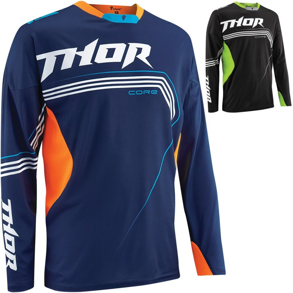 Thor Core Bend Mens Motocross Jersey