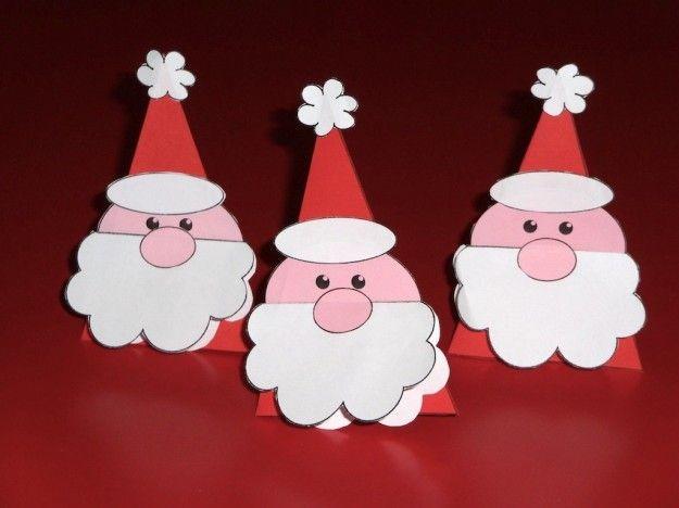 Lavoretti Di Natale Per Bambini.Lavoretti Di Natale Per La Scuola Dell Infanzia Artigianato Natalizio Natale Natale Artigianato