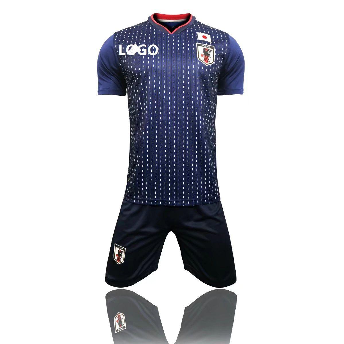 1cd73e9d5e762 2018 Adult Japan Home Blue/white Soccer Jersey Uniforms Russia World Cup  Football Team Kits