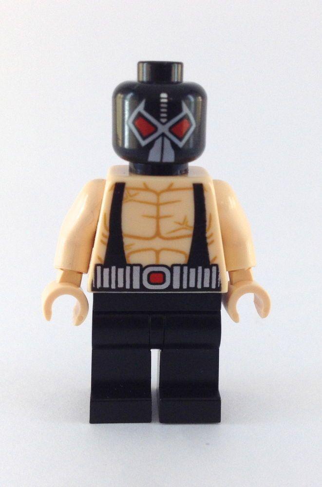 LEGO SUPER HEROES DC COMICS MINIFIGURE MINIFIG BANE 6860