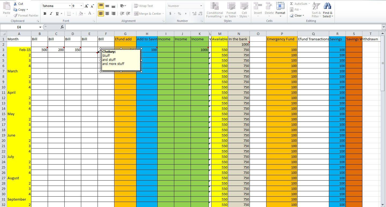 Making A Budget Worksheet Free