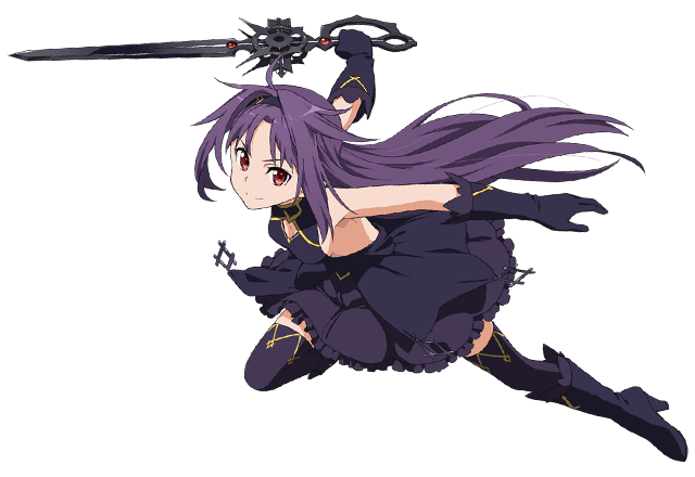 Sao Ausuna Full Body: 《疾雷の闇華》ユウキ