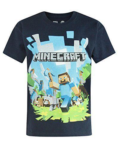 d0b7c2568 Niño - Minecraft - Minecraft - Camiseta (11-12 Años)  camiseta   realidadaumentada  ideas  regalo