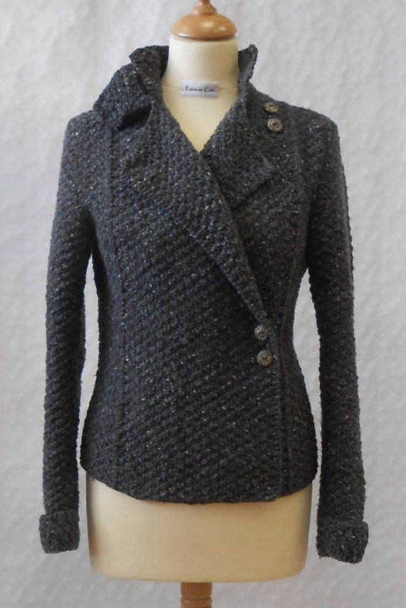 Military Style Jacket Knitting Pattern PDF | Military ...