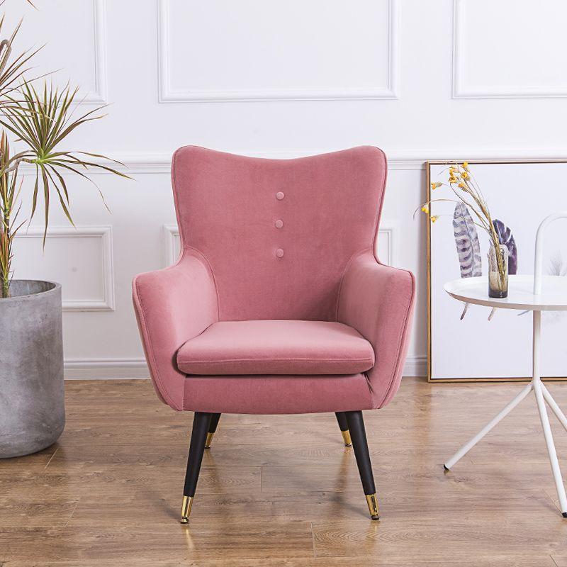 Customized Nordic Armchair American Single Sofa Chairs For Living Room Modern Minimalist Tiger Chair Bedroom Balcony A In 2020 Single Sofa Single Sofa Chair Small Sofa