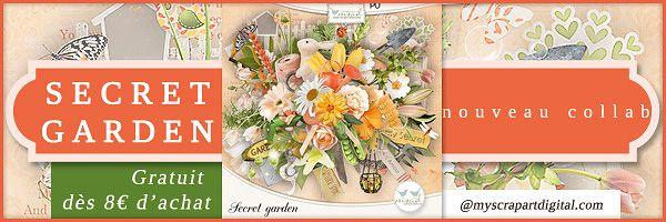 Store Collab My Scrap Art Digital : My Secret Garden Shop Here: Http:/