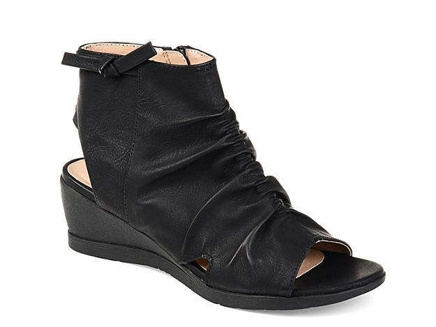 0bf2a39ea00 Women Ramona Wedge Bootie -Grey in 2019 | Products | Shoes, Peep toe ...