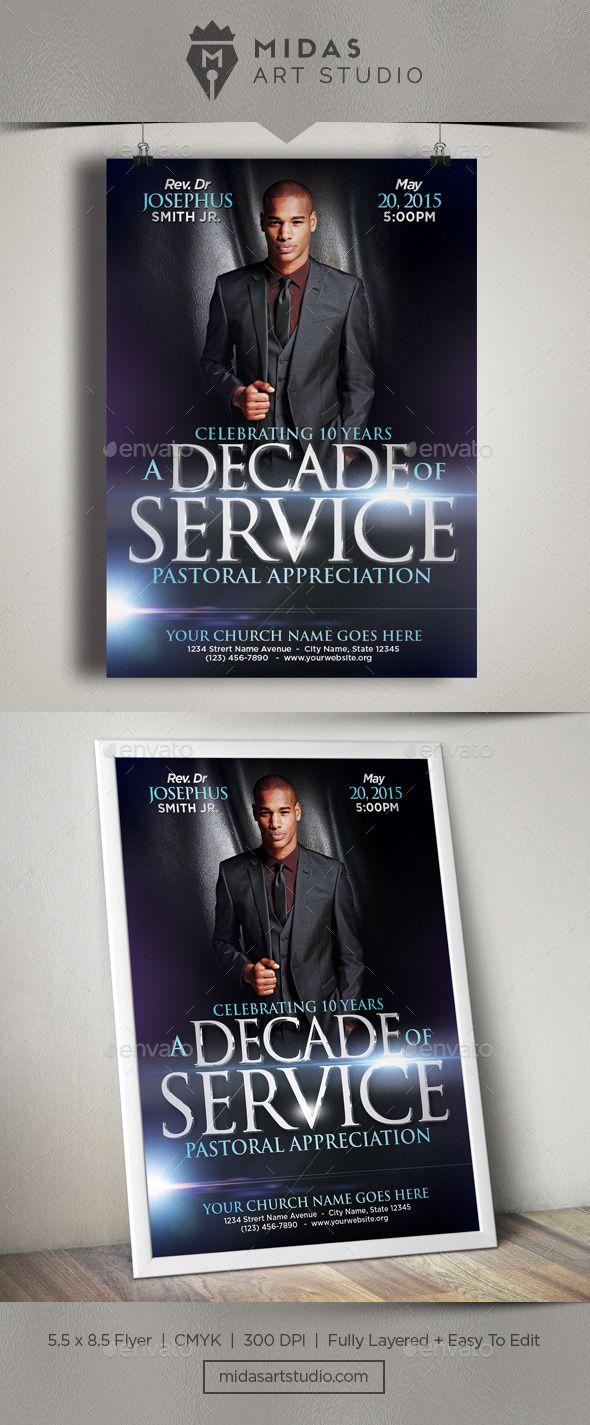 Church Flyer Template | Flyer template, Template and Churches