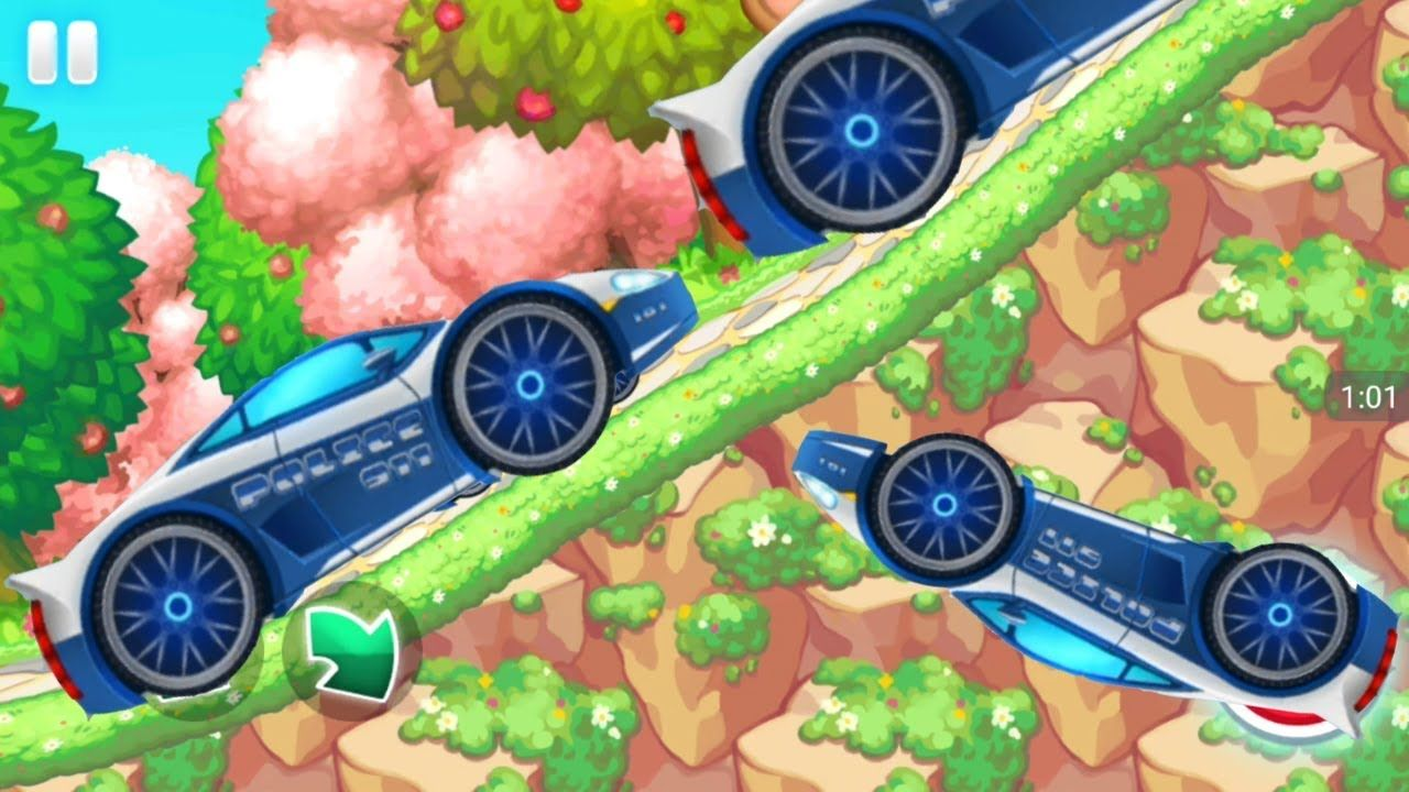 racing games for kids police car racing adventure cars for kids