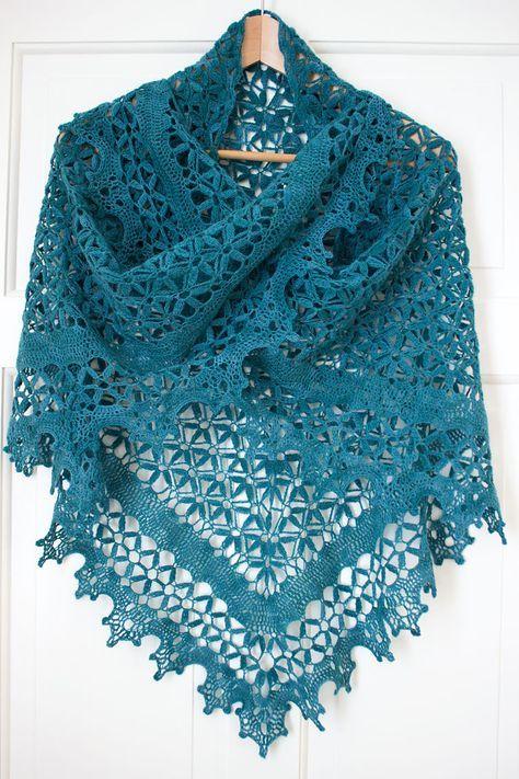 Ravelry: AriadneWebb\'s A Midsummer Night\'s Shawl | Crochet Clothing ...