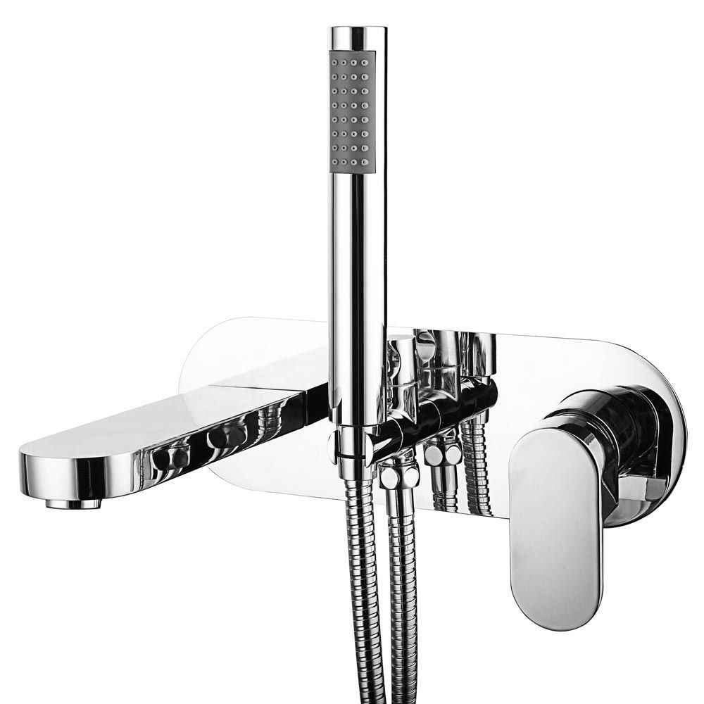 Elite Wall Mounted Bath Shower Mixer Tap Shower Kit Shower Mixer Taps Bath Shower Mixer Wall Mounted Bath Taps