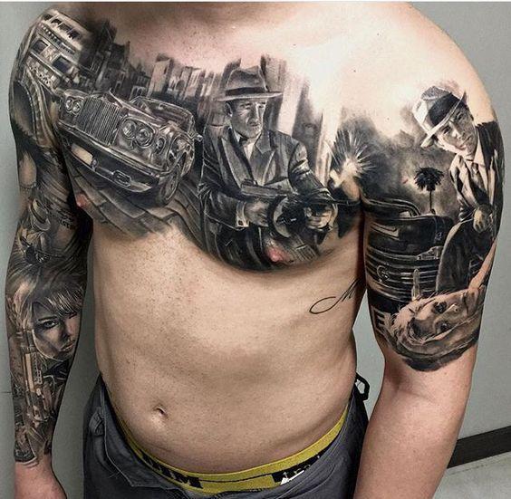 Morten Breum Tattoos