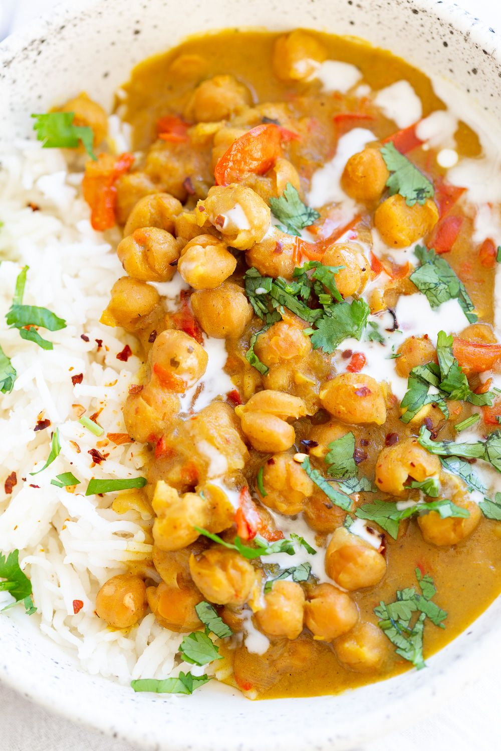 b80462a6e8a2 Chickpea Coconut Curry - Instant Pot or Saucepan. This 1 Pot Coconut  Chickpea Curry is