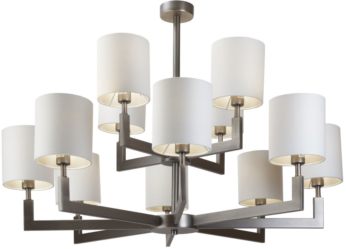Rv Astley Ealga Gunmetal 12 Arm Chandelier Chandelier Shades Chandelier Ceiling Lights