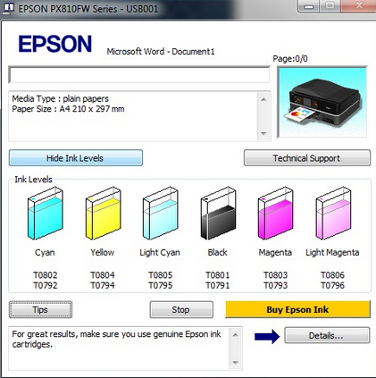 Free Download Software Resetter Printer Epson L100 L200 | Drivers