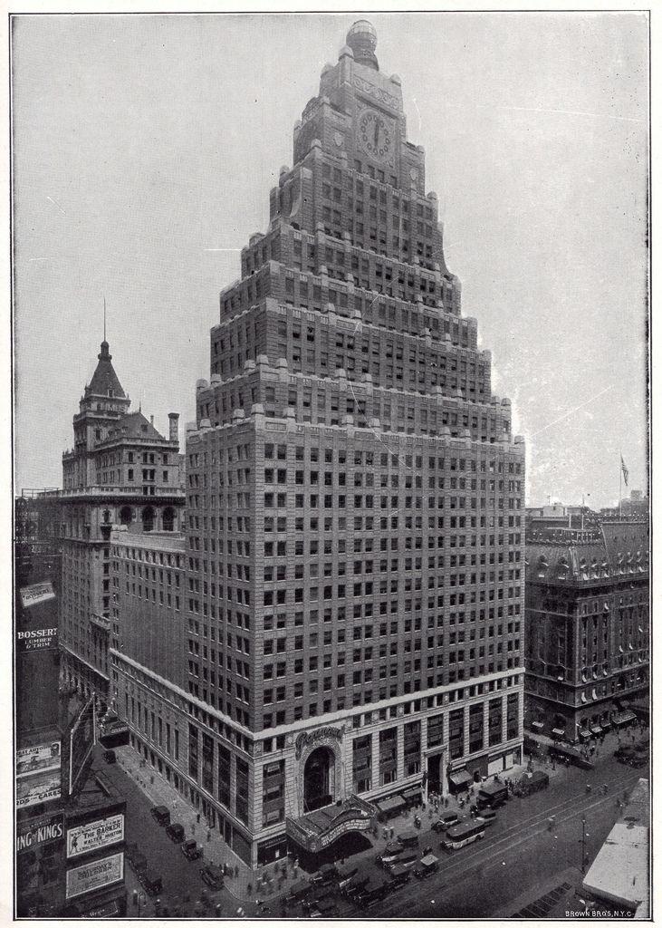 Paramount Building New York Times Square Lobby