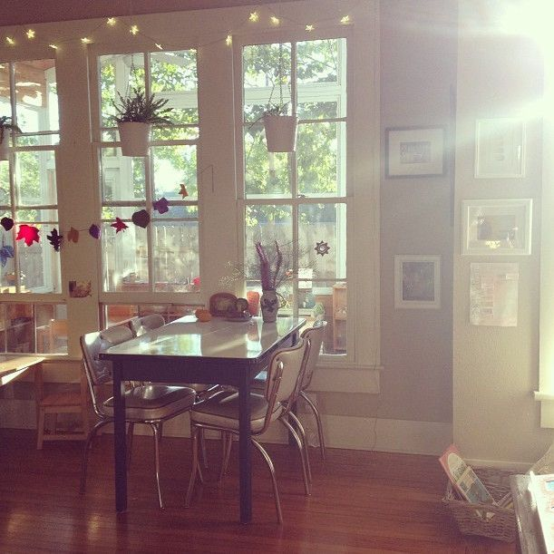 Sunlight-Drenched Toddler Montessori Classroom -  Temper your jealousy, teachers. One can always dr