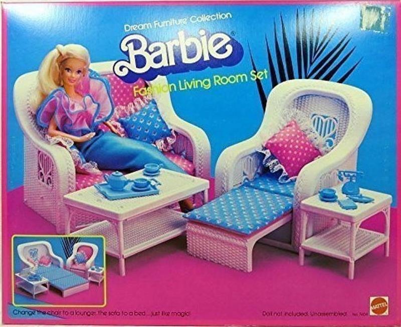 Barbie Fashion Living Room Set Dream Furniture