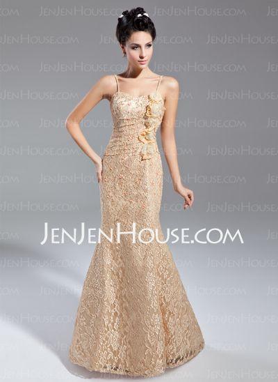 Mother of the Bride Dresses - $144.49 - Sheath Sweetheart Floor-Length Lace Mother of the Bride Dress With Ruffle (008015080) http://jenjenhouse.com/Sheath-Sweetheart-Floor-Length-Lace-Mother-Of-The-Bride-Dress-With-Ruffle-008015080-g15080
