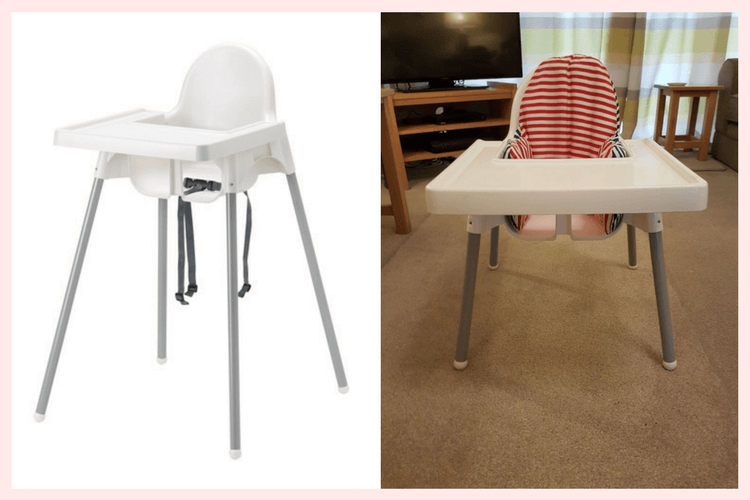 Ikea Low Chair Using The Antilop In