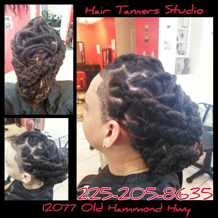 Dread lock styles , braids , designs , dreds