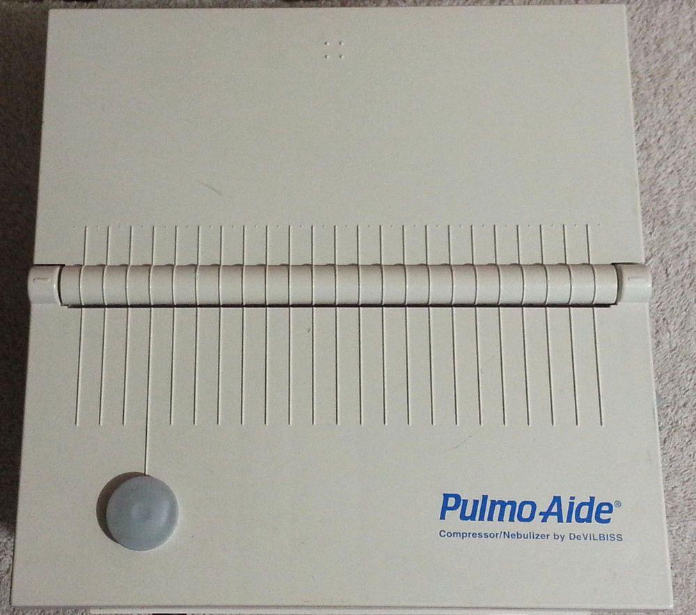 Devilbiss Pulmo Aide Compressor Nebulizer System 5650d Cool Things To Buy Ebay Nebulizer