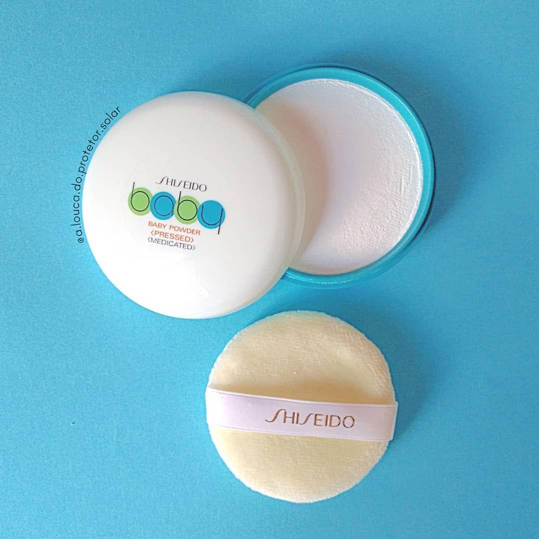 Resenha Shiseido Baby Pressed Powder Baby Powder Shiseido Pressed Powder