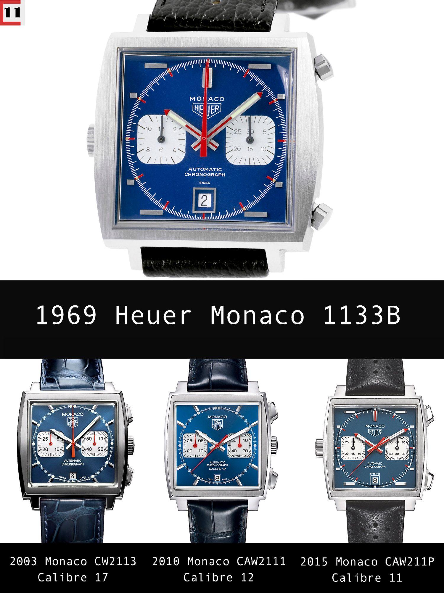 First Look  Heuer Monaco Calibre 11 McQueen Chronograph   The Home of TAG  Heuer Collectors 9ebbfda8732e