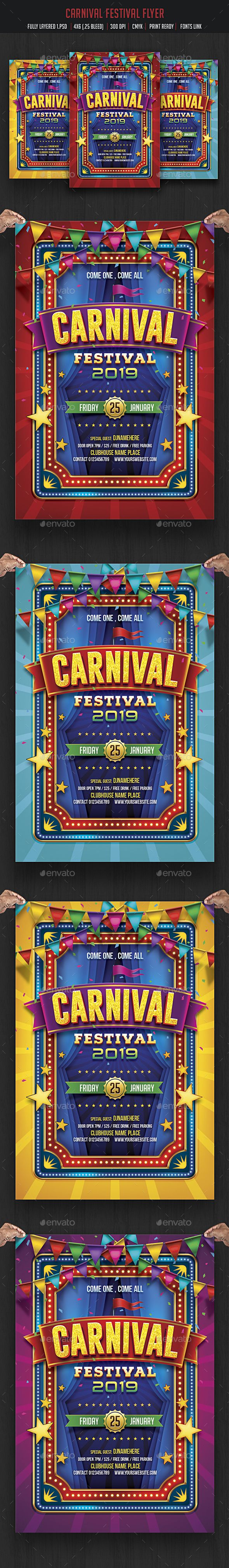 Carnival Fun Fair Flyer Pinterest Fun Fair Carnival And Flyer