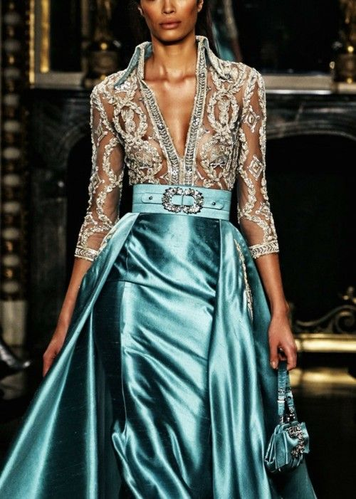 Christmas Ball Gown | Clothes | Pinterest | Catwalks, Couture and ...