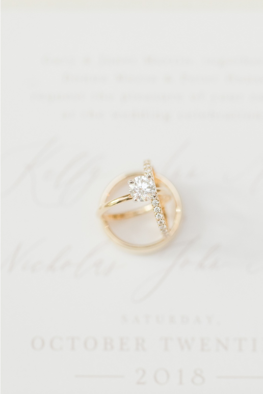 Ring Shot The River House At Rumson Country Club Wedding Rumson Nj Photographer Susan E Country Club Wedding Engagement Ring Wedding Band Wedding Bands
