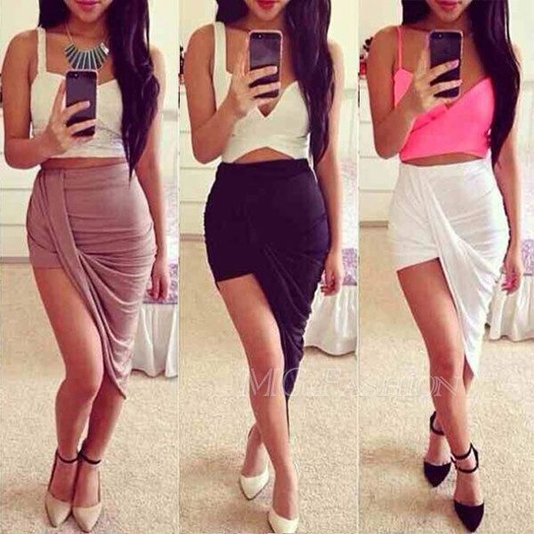 skirt with split at the both side - Google Search | Shontell ...